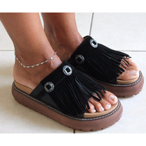 Sandalia Zapato Fleco Bajas Mujer Moda Primavera Verano 2017