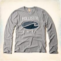 Camisa Blusa De Frio Hollister Original Abercrombie & Fitch