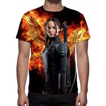 Camisa, Camiseta Jogos Vorazes A Esperança Parte 1 - Mod 06