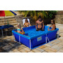 Piscina Retangular 2000 Litros Azul Standard 211x164x58 Mor