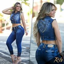 Calça Jeans Rhero Original Estilo Pit Bull Linda