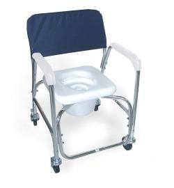 Sillas Baño Discapacitados | Silla Bano Discapacitados De Aluminio Con Ruedas Desarmable