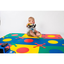 Alfombra Goma Eva Ideal Para Bebes - Encastrable - Pisos