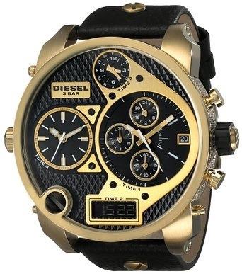 5dd7878bcee Relógio Diesel Dz7323 Big Daddy Dourado 57 Mm - R  2.479