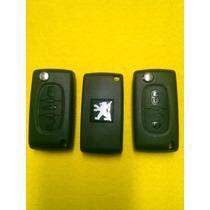 Control Remoto Peugeot 307 Con Llave Virgen De 2 Y 3 Botones