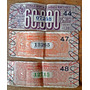 Antiguos Billetes Loteria Hospital Caridad 1942 43 44