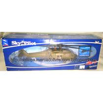 Miniatura Helicóptero Sikorsky Uh-60 Black Hawk Eua New Ray