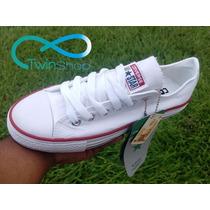 Zapatos Converse Blancos All Star Dama Y Caballero