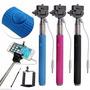 Selfie Stick Con Cable, Y Boton,no Necesita Bluetooth