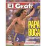 El Gráfico 3810 - Manteca Martinez / Boca 1 River 0 Supercla