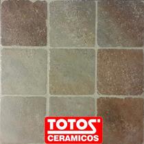 Ceramica De Patio Taco Porfido 45x45 Antideslizante Totos