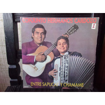 Vinilo Disco Lp Los Hermanos Cardozo Entre Sapucay Y Chamame