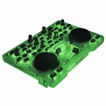 Controlador Hercules Glow Mixer Consola Led Mp3 Dj Todelec