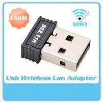 Adaptador Nano Usb Wifi Nano 100m 150mbps 802.11b/g/n