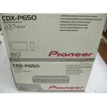 Pioneer Compactera Cdx-p650 6cd