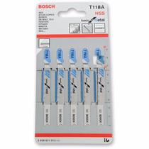 Segueta Caladora T Metal 5 P Basica 3 Mm T118a Bosch