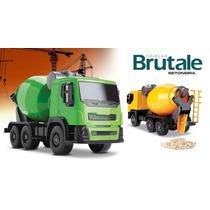 Caminhão Brutale Betoneira - Roma Brinquedos