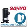 Compresor 5 Toneladas Scroll Monofasico Y Trifasico