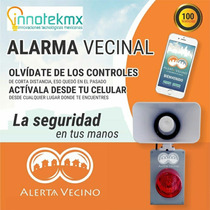 Alarma Vecinal Alerta Vecino