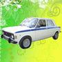 Calco Decoracion Fiat 128 Iava 1974