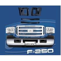 Kit Frente Nova F250 F350 2006 A 2012 C/alojamento Do Farol