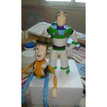 Toy Story Buzzlightyear Y Woody Adorno Torta