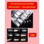 Tip Dua System Uña Express Caja 100 Moldes