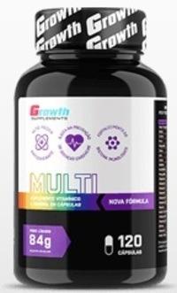 f1d4a5dcb Multivitamínico (120caps)(nova Fórmula) - Growth Supplements - R  54 ...
