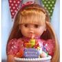 Muñeca Maricela Cumpleaños Cariñito Torta Magica Luz Sonido