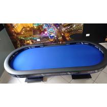 Mesa De Poker Modelo Borda Alta Com Dealer Sem Led