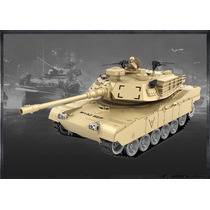 Tanque Rc Abrams M1a2 Con Disparo De Balines Mygeektoy