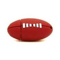 Memoria Usb 8gb Figura Balon Futbol Americano Llavero Edicio