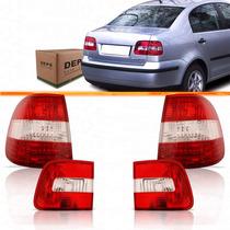 Kit Lanterna Polo Sedan 2003 2004 2005 2006 Mala + Canto