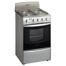 Cocina Patrick 51 Cm Cpf8151mvs Multigas Metallic
