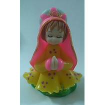 5 Souvenirs Comunion Virgencitas Porfis En Porcelana Fria
