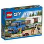 Lego City 60117 Furgoneta Y Caravana Original