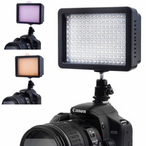 Lampara Led 160 Video Con Difusores Profesional