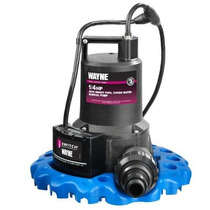 Wayne Wapc250 1/4 Hp Automático On / Off Eliminación De Agua