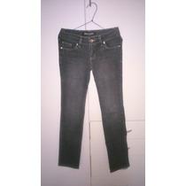 Pantalon Jean Focalizado Color Gris
