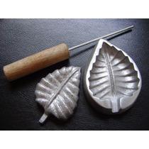 Kit Frisador Flores E Tecidos Em Alumínio Lançamento 24 B