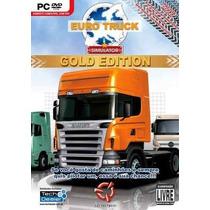 Euro Truck Simulator Gold Ed. - Pc Dvd Original Lacrado