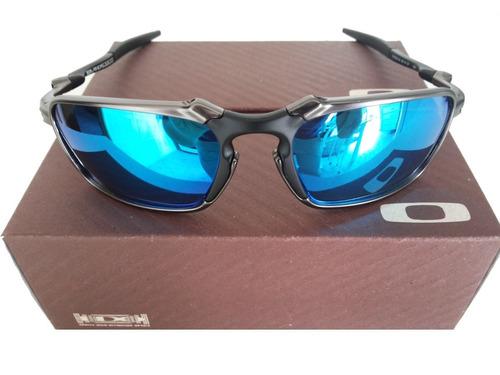 Oculos Oakley Squared Juliet Double X 24k Badman Magic Blue - R  169,00 349fb3a41b