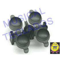 Conjunto C/ 4 Knobs Botões Korg M1 X5 X5d Novo Frete Grátis
