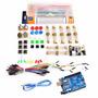 Kit Uno R3 Compatible Arduino + Genéricos + Protoboard, Etc.
