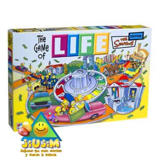 Juego De La Vida Life The Simpsons Original Hasbro Jiujim 969 99