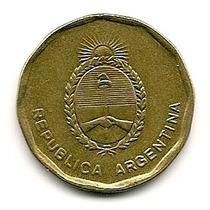 Argentina 10 Centavos De Austral Año 1986