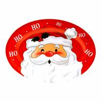 Travessa Oval Grande - Papai Noel Ceia Natalina Almoço Natal