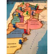 Rompecabeza Mapa Republica Argentina