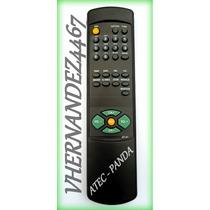 Control Remoto Tv Atec Panda Cubano At-01 Convencional.!!!
