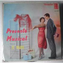 Lp Presente Musical - Zé Maria E Seu Conjunto - Cid 27017